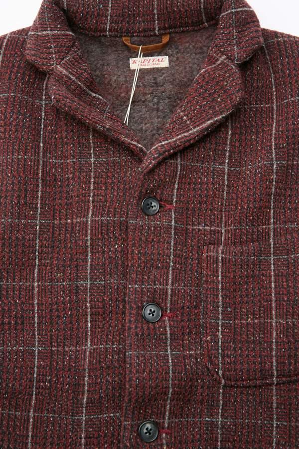 Kapital-Tweed-Fleecy-Knit-Kobe-Jacket---Burgundy-Grey-20191015012126.jpg?1571102493