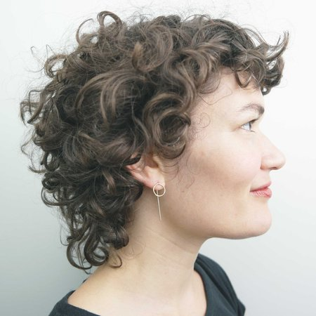AOKO SU Circle Origin Earrings