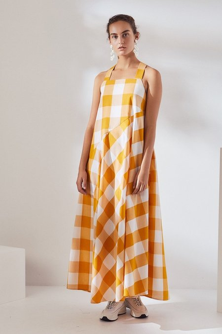 Kowtow Riley Dress - Daisy Check