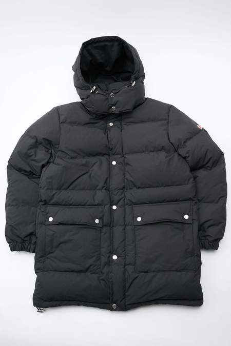 Danton White Goose Down Coat - Black