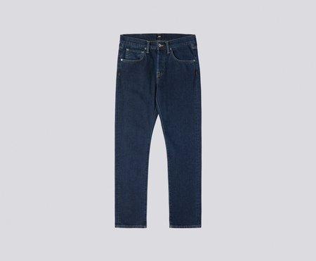 Edwin ED-55 Regular Tapered Yoshiko Left Hand Denim 12.6oz Akira - Blue