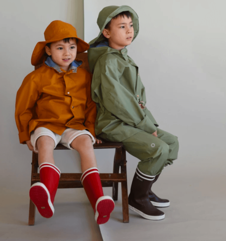 Kids Faire Child Midi Raincoat
