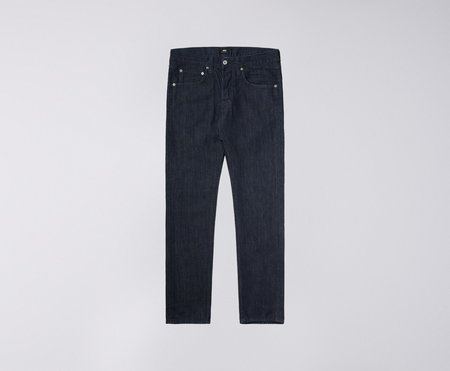 Edwin ED55 Kingston 12oz Denim - Cotton Blue Rinsed