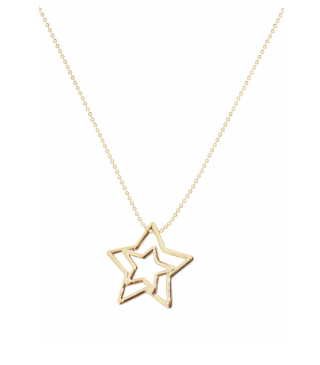 aliita ESTRELLA PURA NECKLACE - 9KT YELLOW GOLD