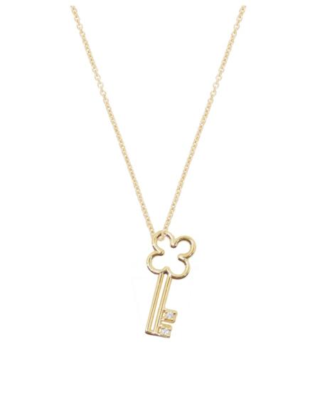 aliita LLAVECITA BRILLANTE Necklace - 9KT YELLOW GOLD