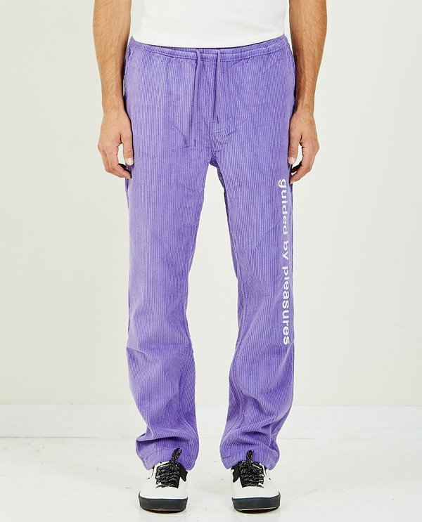 PLEASURES Guided Corduroy Pant - Purple