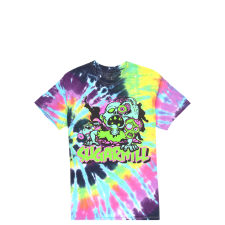 Sugarhill Living Dead Blast From The Past T-Shirt - Tie Dye