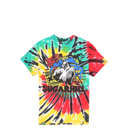 Sugarhill Reaper Bats Rasta T-Shirt - Tie Dye