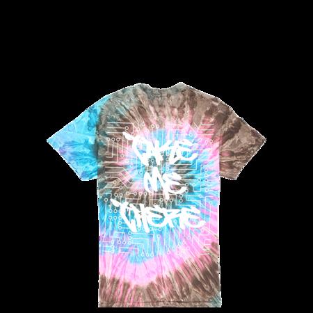 Sugarhill Zombie Wolf Woodgrain T-Shirt - Tie Dye