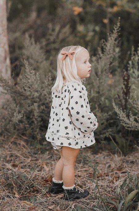 KIDS Rylee + Cru QUINCY BLOUSE - Winter Flower