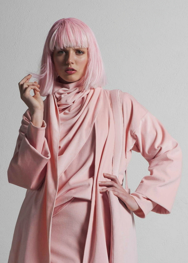 SIZ SABIK BLOUSE - Pink Velvet
