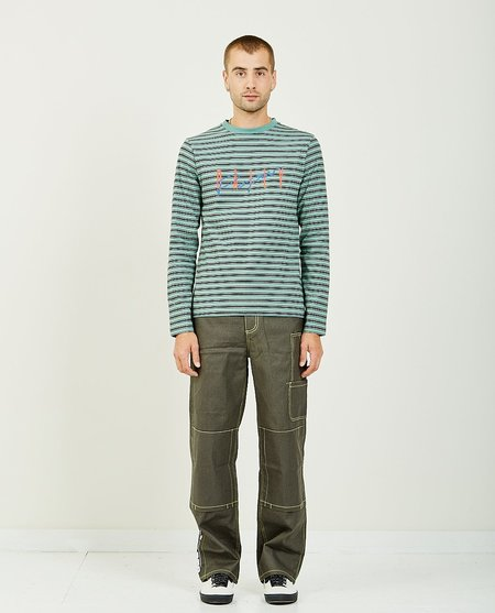 Daily Paper GASO LONG SLEEVE TEE - GREEN