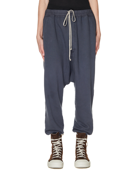 DRKSHDW by Rick Owens Cotton Sweatpants - Blue