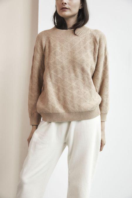 Wol Hide Sweatshirt Sweater - Sand