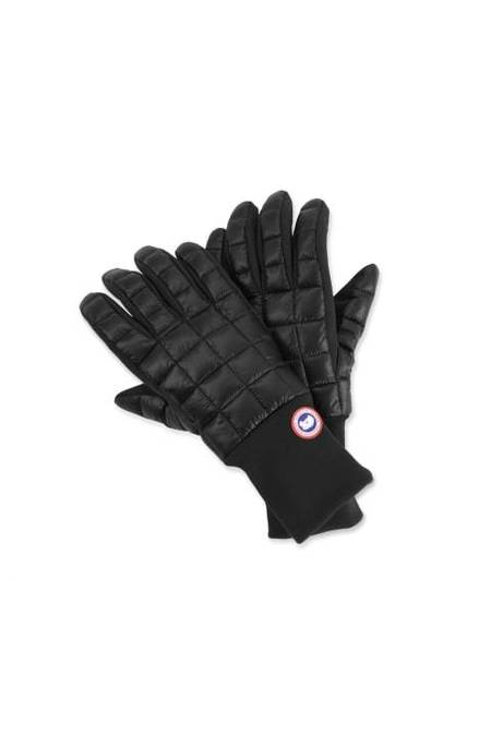 CANADA GOOSE ORTHERN GLOVE LINERS - BLACK