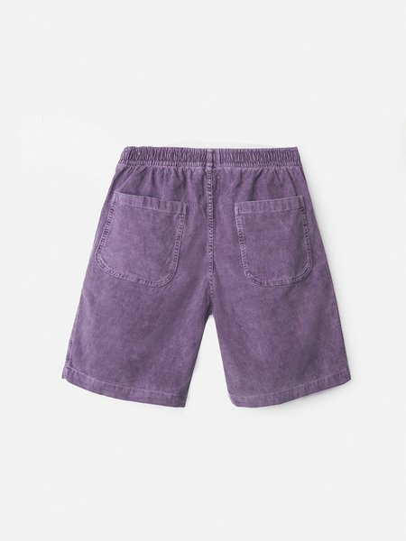 GENERAL ADMISSION Rat Rock Washed Cord Short - Plum