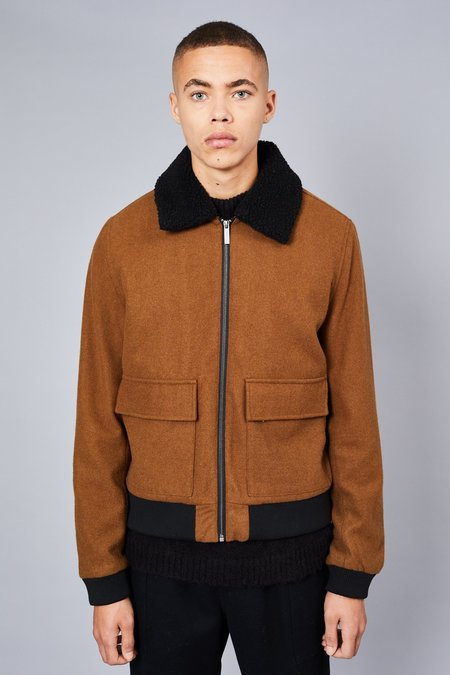 Native Youth ELLIS JACKET - BROWN