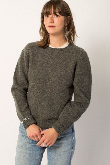 Preservation Vintage Wool Sweater - Gray