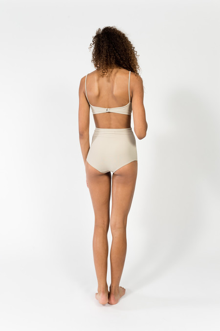 Hackwith Design House Contrast Band Bottoms - Grey