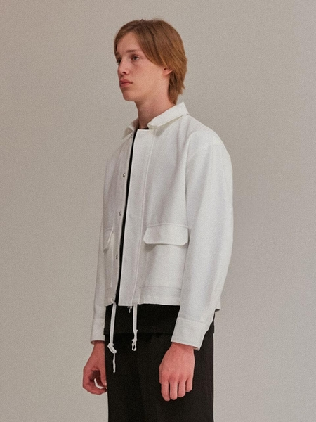 Current Two Pocket Jacket - Ivory