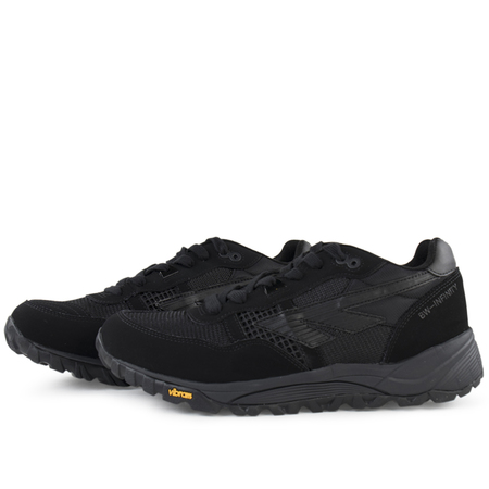 unisex Hi-Tec HTS74 badwater infinity sneaker - Black/Cream