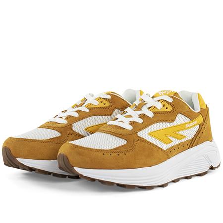 Hi-Tec HTS74 silver shadow sneaker - Mustard/White/Yellow