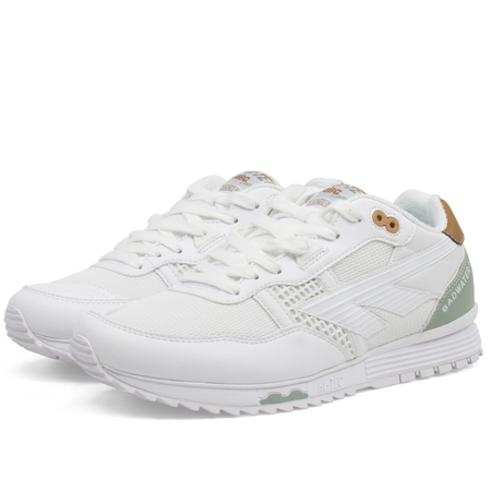 unisex Hi-Tec HTS74 sneaker - White/Sage Green