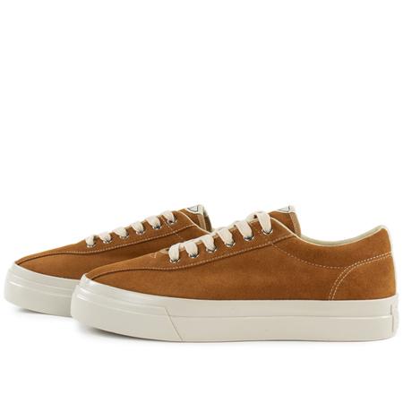 Stepney Workers Club dellow suede sneaker - Tan