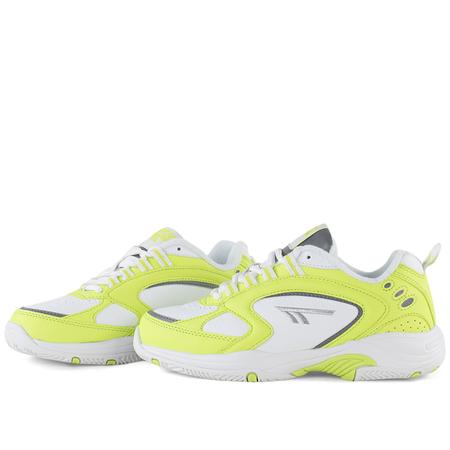 unisex Hi-Tec HTS74 blast sneaker - Neon Yellow / White