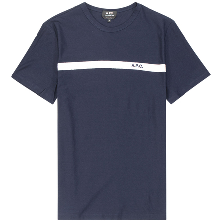 A.P.C. yukata t shirt - Dark Navy