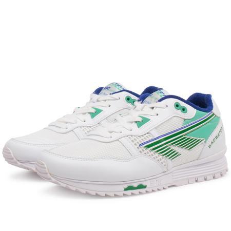 Hi-Tec HTS74 trainer - White/Evergreen