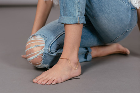 Vibe Harslof Anklet - Gold Plated