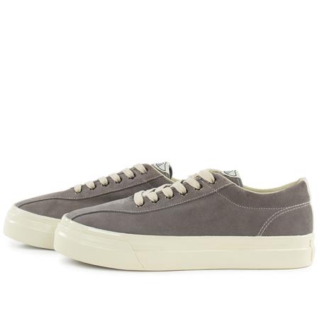 Stepney Workers Club suede dellow sneaker - Grey