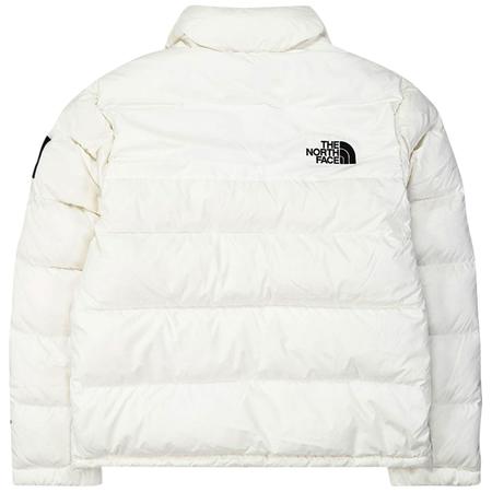 The North Face nuptse jacket - Black/White