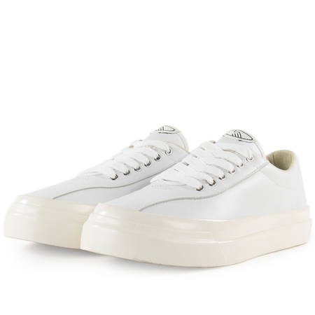 Stepney Workers Club leather dellow sneaker - White