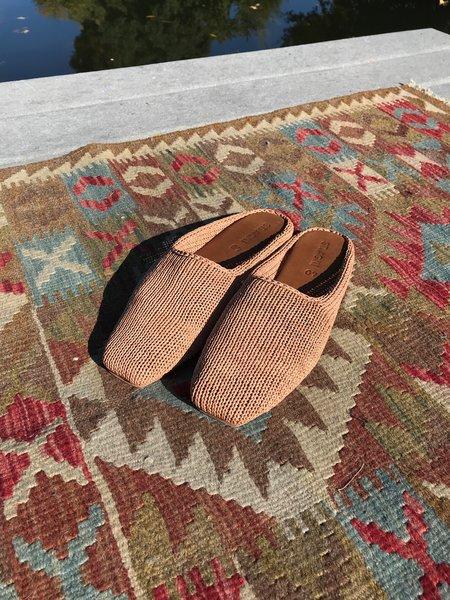 St. Agni Mae Knit Loafer - Tan