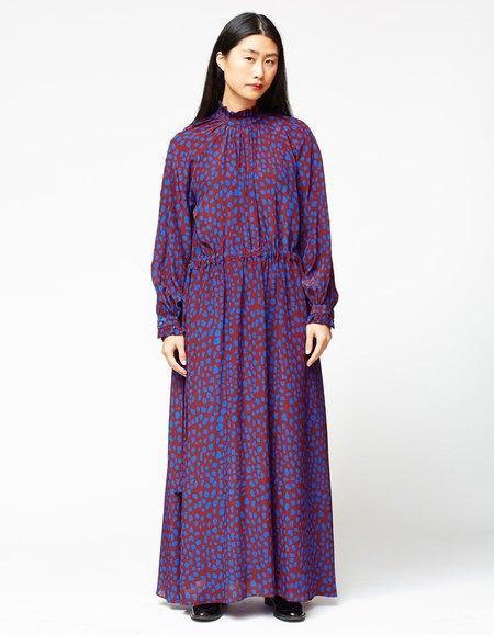 Whit Maude Dress Jag Mark - Purple