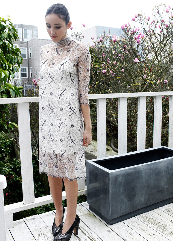 4938bbe8 Ganni California Lace Dress | Garmentory