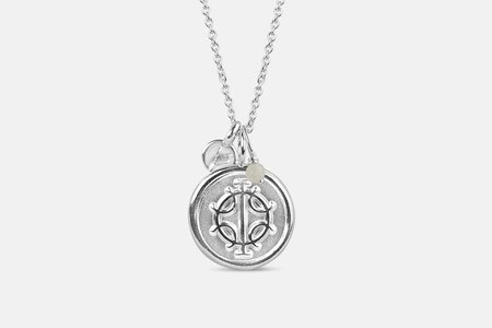 Andrea Shelley Danobus Necklace - Silver