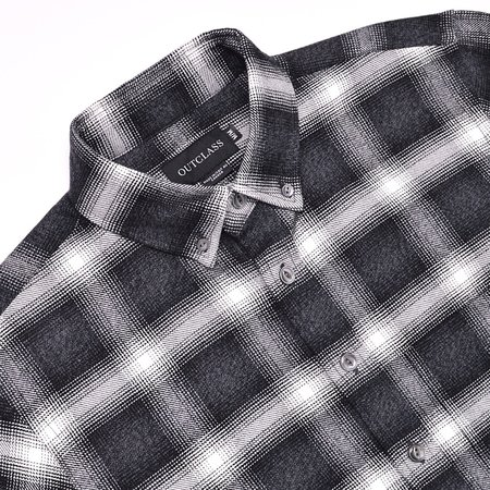 Outclass Shadow Plaid - Black/White