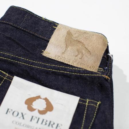 Studio D'artisan FOX-001 Selvedge Relaxed Tapered Jeans