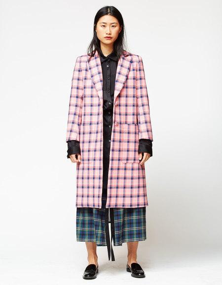 Whit Parker Coat - Sherbet Plaid