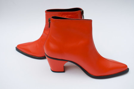 Rachel Comey Calf Leather Sonora Boot - Red