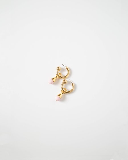 Rachel Comey Cinder Earring - Baby Pink