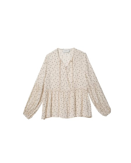 Munthe Grapefruit Blouse - Ivory