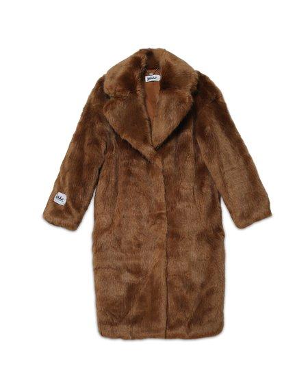 Jakke Katie Faux Fur Coat - Chestnut