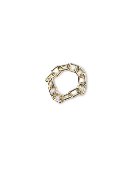 Machete Link Statement Bracelet - Gold