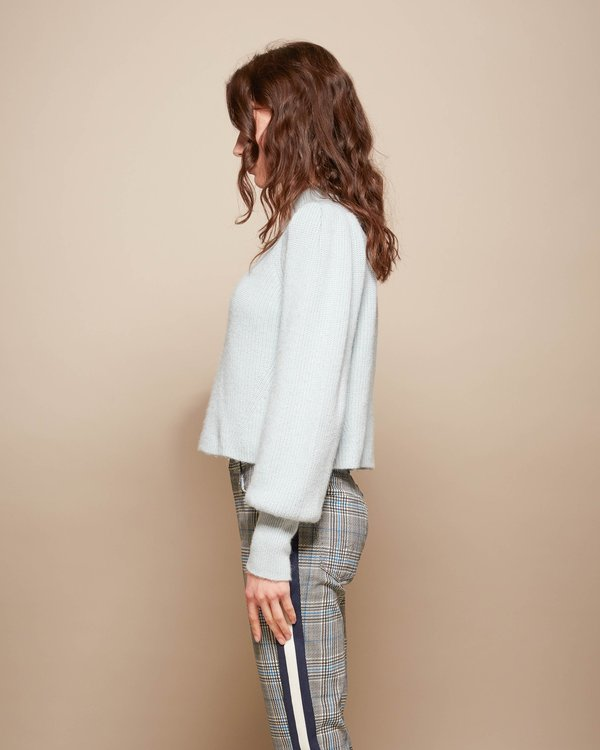 ELEVEN SIX Mia Ribbed Sweater - Powder Blue