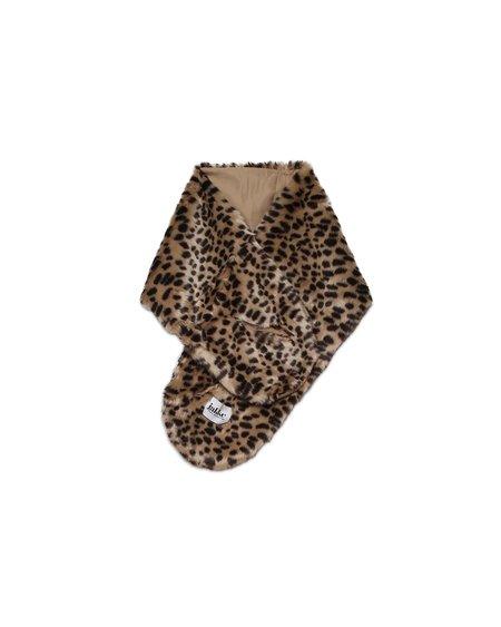 Jakke Vanessa Faux Fur Scarf - Cheetah