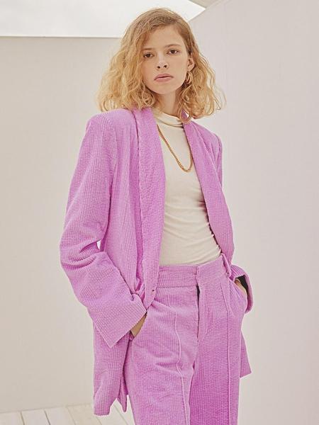 HOLY NUMBER 7 Corduroy Jacket - Neon Pastel